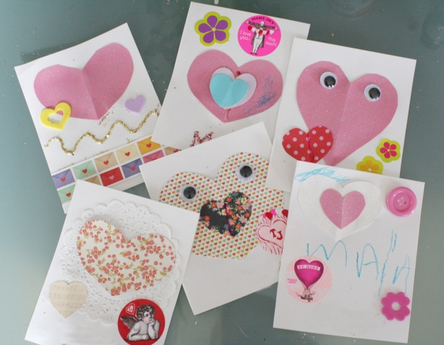 easy valentine card diy