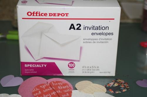 valentine diy envelopes