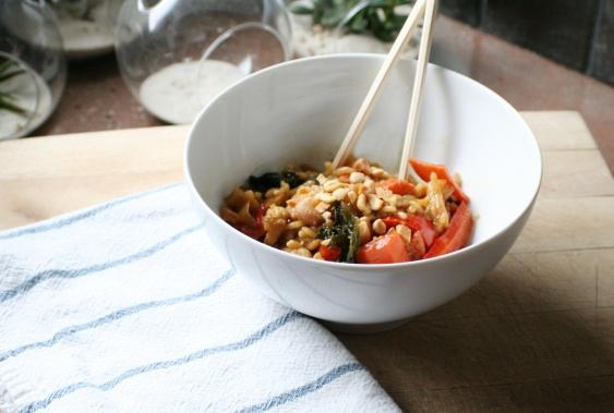 asian noodle shrimp recipe