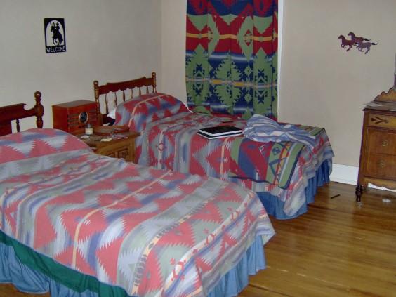 Rosie's Cowboy room