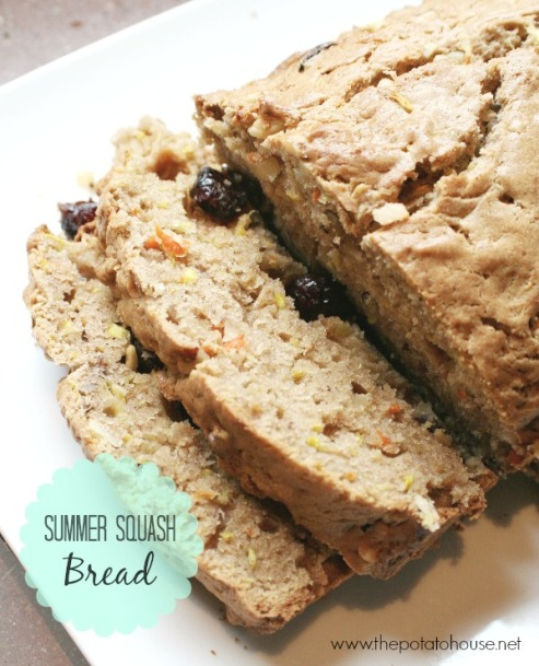 yellow summer squash zucchini bread