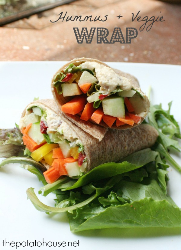 hummus veggie wrap recipe
