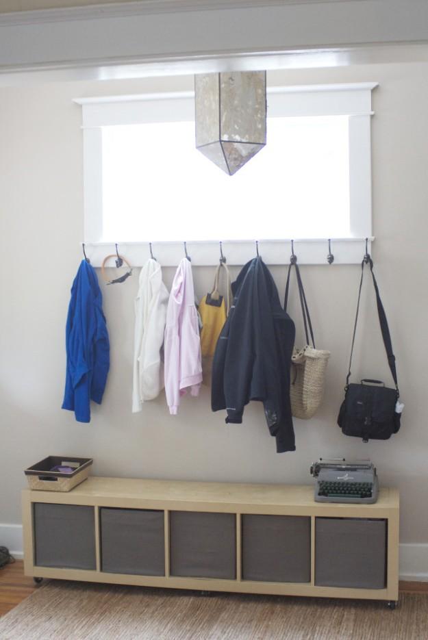 foyer redo coat hooks