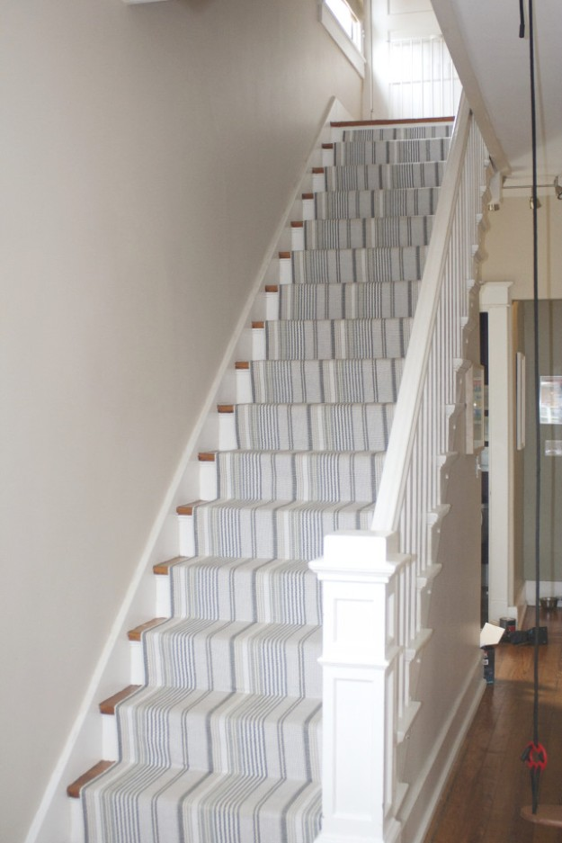 foyer redo stair runner